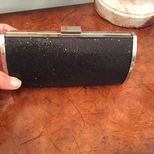 Handbags - Small black evening clutch